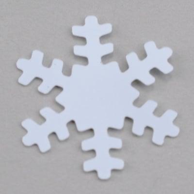 Пайети, Snowflakes, 15 mm, ~ 1000 бр., снежинки