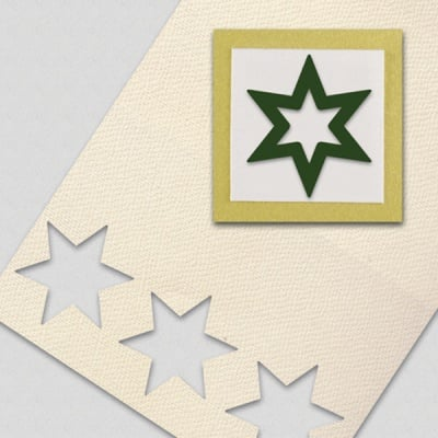 Пънч силуетен, Звезда, ~ 32 mm