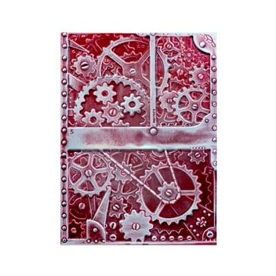 """Папка за релеф върху хартия, """"Креативни зъбци"""", ~ 12,7 x 17,8 cm"""