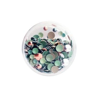 Нитове за термолепене, 3 размера x 4 цвята, гланц