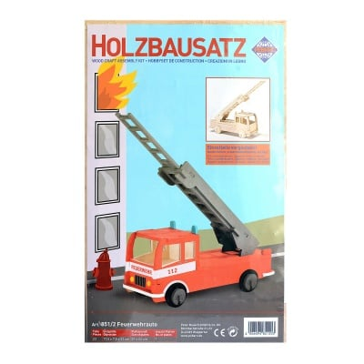 Дървен комплект за сглобяване, Пожарна