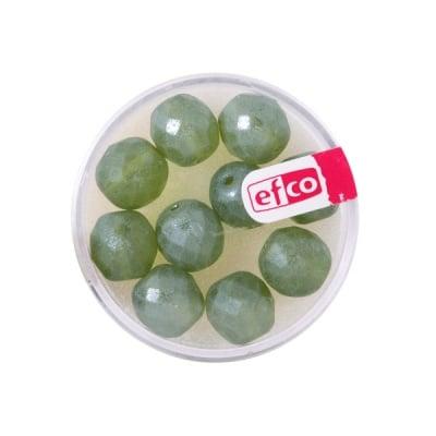 Перли Antik, 10 mm, 10 бр., цвят - маслина