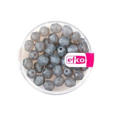 Перли Antik, 6 mm, 40 бр., сиви
