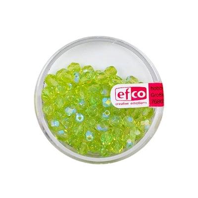 Перли, многостенни, преливащи цветове, 4 mm, 100 бр., цвят - маслина