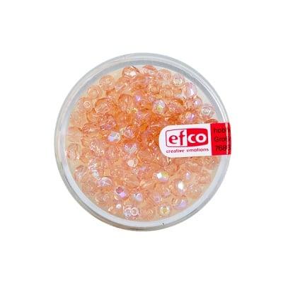 Перли, многостенни, преливащи цветове, 4 mm, 100 бр., розови