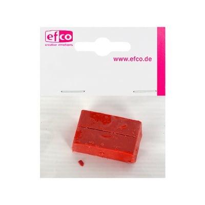 Пигментен стик за восък, 2 бр., червено-кафяво