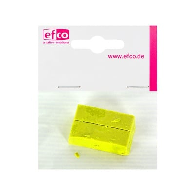 Пигментен стик за восък, 2 бр., жълт