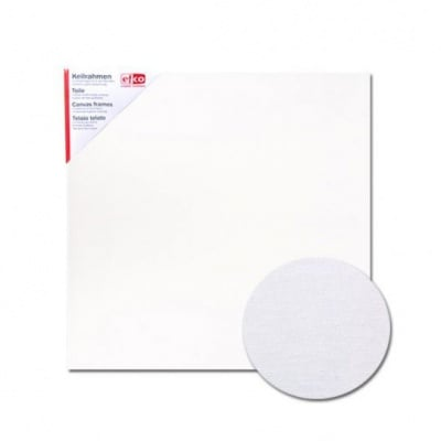 Платно за рисуване грундирано, 380g/m2, 3 mm, бяло