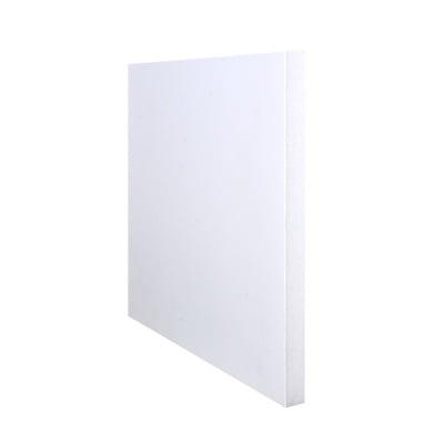 Плоскост за декорация от лек порест материал, 1 лист, 21 x 29,7 cm x 10 mm, бяла