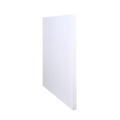 Плоскост за декорация от лек порест материал, 1 лист, 21 x 29,7 cm x 5 mm, бяла