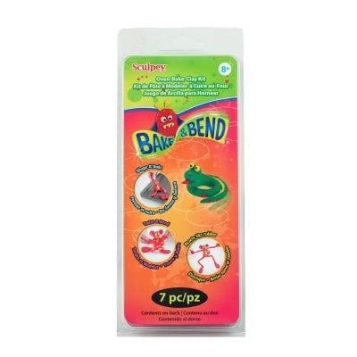 Детски комплект Bake & Bend Kit Sculpey, пружиниращи