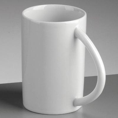 Порцеланова чаша, ф 7,5 x H 10,0 cm, 300 ml,