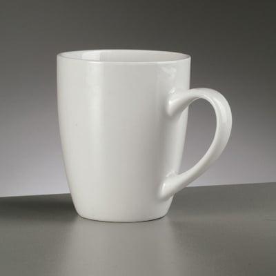 Порцеланова чаша, ф 8 / 5,3 x H 9,7 cm, 320 ml,