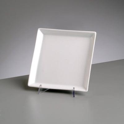 Порцеланова квадратна чиния, 18 x 18 cm,