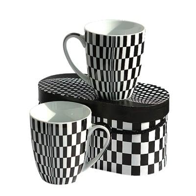 Mug Set Gift-Box OpArt S.81