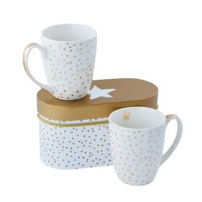 Комплект порцеланови чаши The star,  2 бр.