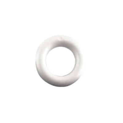 Пръстен от стиропор, бял, ф 170 mm