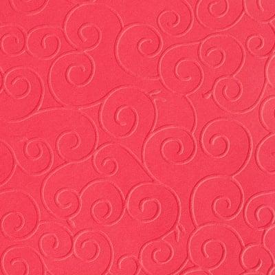 Преге картон, 220 g/m2, 50 x 70 cm, 1л, арабески червен