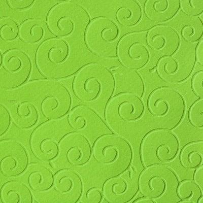 Преге картон, 220 g/m2, 50 x 70 cm, 1л, арабески светло зелен