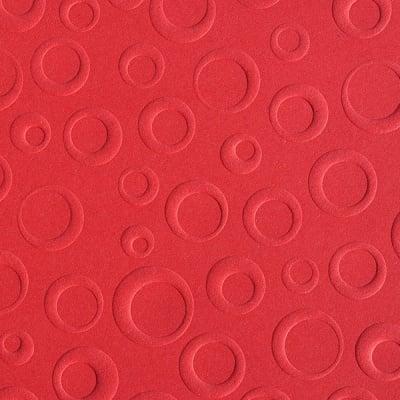 Преге картон, 220 g/m2, 50 x 70 cm, 1л, балони червен