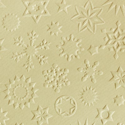 Преге картон, 220 g/m2, 50 x 70 cm, 1л, звезди кремав