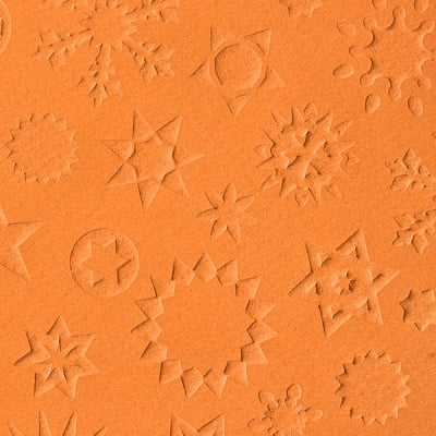 Преге картон, 220 g/m2, 50 x 70 cm, 1л, звезди теракота