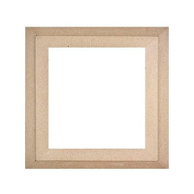 Рамка за картина от папие маше, 29 x 29 / 20 x 20 cm