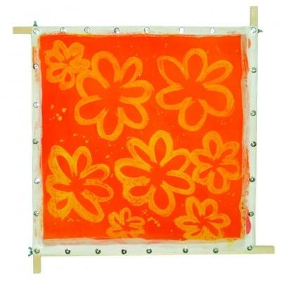 Рамка за рисуване на коприна JAVANA, 50 х 50 cm, кабъри