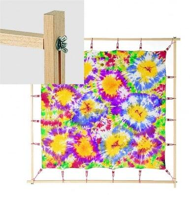 Рамка за рисуване на коприна JAVANA, 90 х 90 cm, клипс ластик