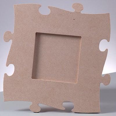 Рамка за снимка MDF пъзел, квадратна, 23 x 23 cm x 4 mm
