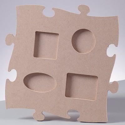 Рамка за снимка MDF пъзел, Quadro, 23 x 23 cm x 4 mm