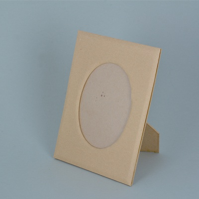 Рамка за снимка от папие маше, овал, 16 x 12 / 11 x 7,5 cm