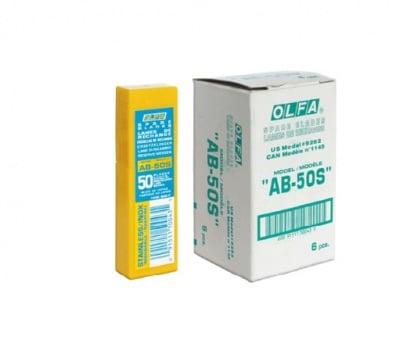Режеща пластина, OLFA AB 50S, 50 бр.