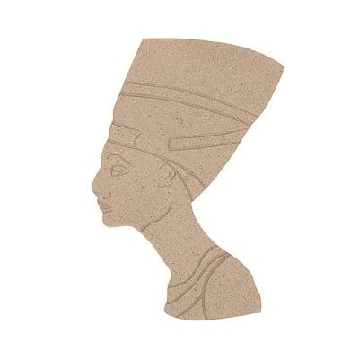 Декоративна фигура RicoDesign, НЕФЕРТИТИ, MDF, 16.5/12/0.5 cm