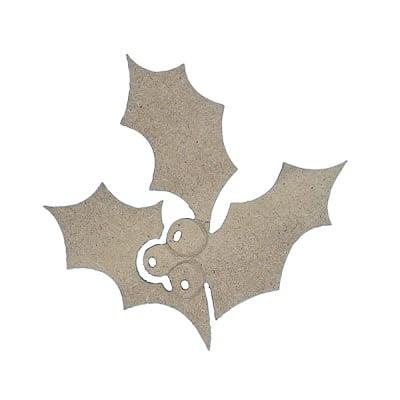 Декоративна фигура RicoDesign, ИМЕЛ, MDF, 8/8.5/0.5 cm