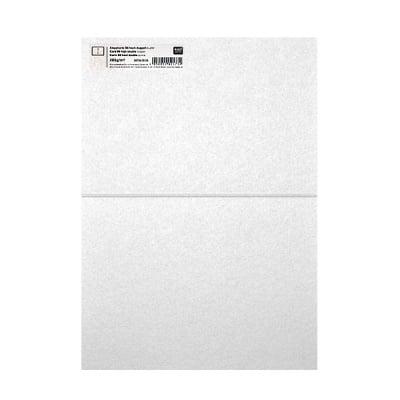 Картичка цветен картон RicoDesign, PAPER POETRY, HB6, 285g, CRYSTAL