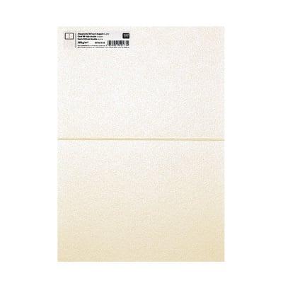 Картичка цветен картон RicoDesign, PAPER POETRY, HB6, 285g, PERLMUTT