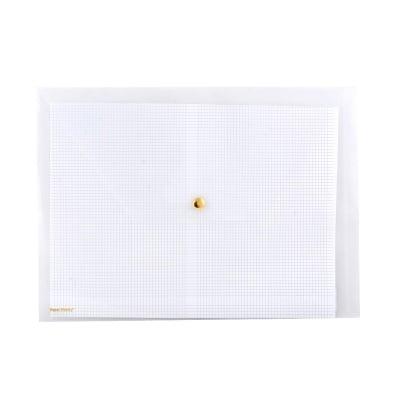 Папка с копче, прозрачна, 33 х 24 cm