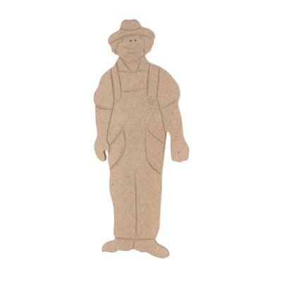 Декоративна фигура RicoDesign, ФЕРМЕР, MDF, 18/7.5/0.5 cm