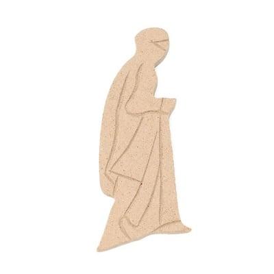 Декоративна фигура RicoDesign, БЕДУИН, MDF, 4/8.5/0.5 cm