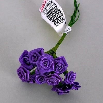 Роза, Dior rose, ø 15 mm, лилава