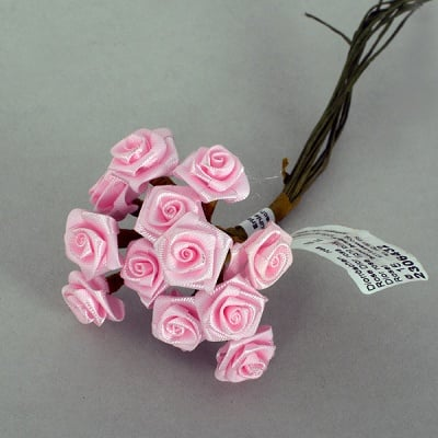 Роза, Dior rose, ø 15 mm, розова