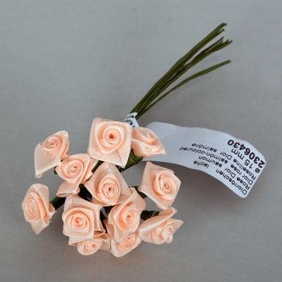 Роза, Dior rose, ø 15 mm, розово-оранжева