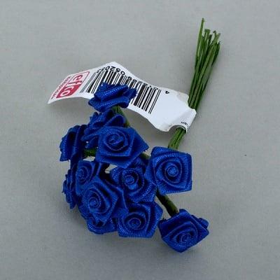 Роза, Dior rose, ø 15 mm, тъмно синя