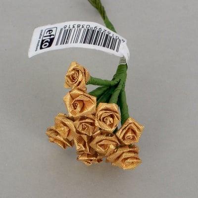 Роза, Dior rose, ø 15 mm, златна