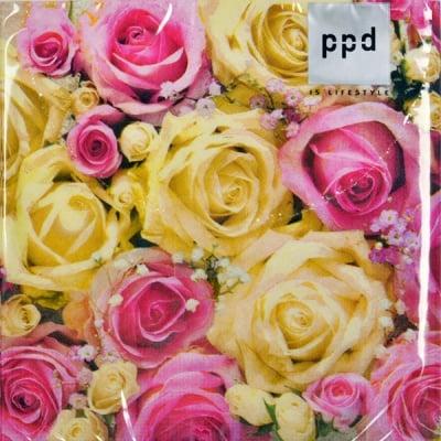 Салфетка PPD, 33 x 33 cm, пак. 20 бр.