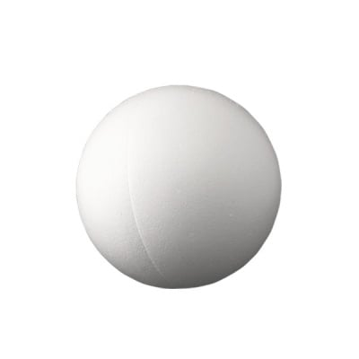 Сфера от стиропор, бял, ф 150 mm, 2 части