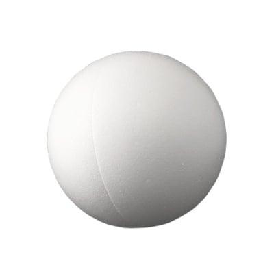 Сфера от стиропор, бял, ф 300 mm, 2 части
