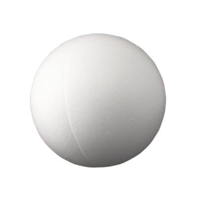 Сфера от стиропор, бял, ф 400 mm, 2 части