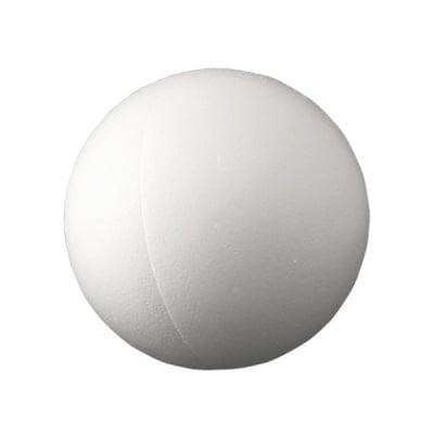 Сфера от стиропор, бял, ф 500 mm, 2 части
